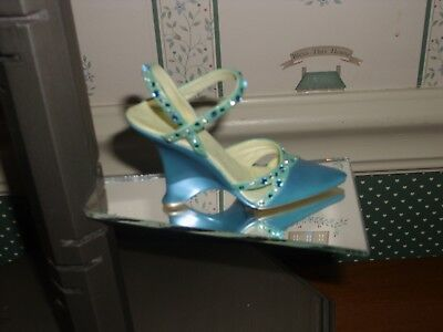 2006-Just The Right Shoe Raine Step Into Elegance Figurine-.passions-Yes Box/coa
