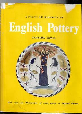 A PICTURE HISTORY of ENGLISH POTTERY  by GRISELDA LEWIS