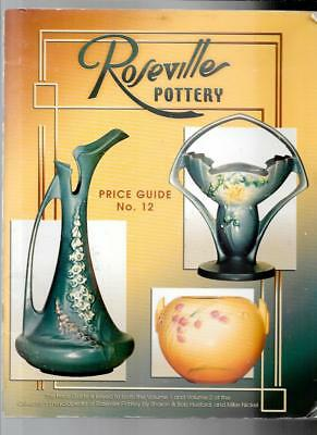 ROSEVILLE POTTERY PRICE GUIDE by SHARON and BOB HUXFORD