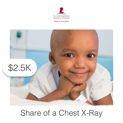 $2500 Charitable Donation For: Share of a Chest X-Ray