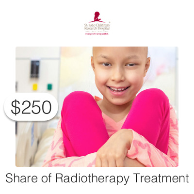 $250 Charitable Donation For: Share of Radiotherapy Treatment