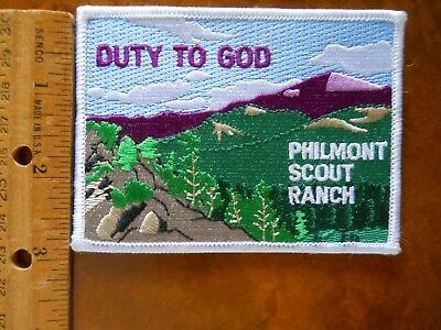 Philmont Scout Ranch Duty To God Patch (New With Tags)