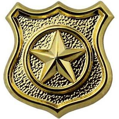 Navy Collar Device Physical Security Technician Gold   (Made in USA)