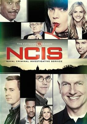 NCIS TV SERIES THE COMPLETE FIFTEENTH SEASON 15 New Sealed 6 DVD Set