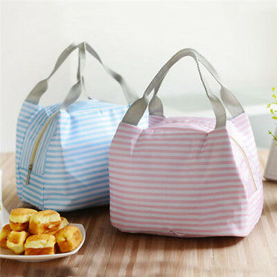 Insulated Thermal Cooler Lunch Box Carry Tote Picnic Case Storage Bag B