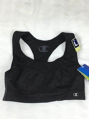 a0fa366cc7d65 CHAMPION DOUBLE DRY Seamless Racer-Back Sports Bra 2900 Pink Size L ...