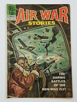 Vintage 1964 Air War Stories Comic Book No 1 First Issue Military