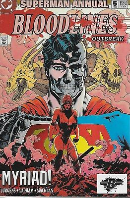 Superman Annual No.5 / 1993 Bloodlines: Outbreak