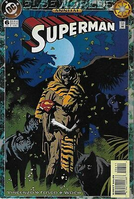 Superman Annual No.6 / 1994 Elseworlds / Mike Mignola Cover