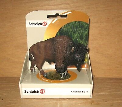 Schleich 14714 American Bison Toy Figure NEW