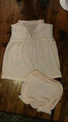 Vintage Lil Pet Barbizon Light Pink Nightshirt with Bloomers