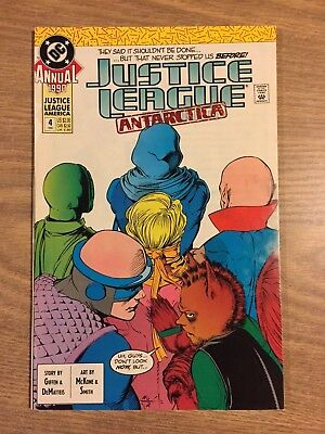 Justice League America Annual #4 1989 FN to VF  DC