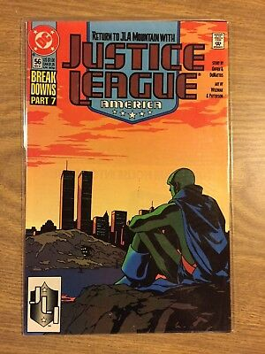 Justice League America #56 1989 FN to VF  DC