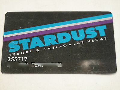 Vintage Stardust Resort & Casino Players Card Las Vegas.   Nice Collectible Card