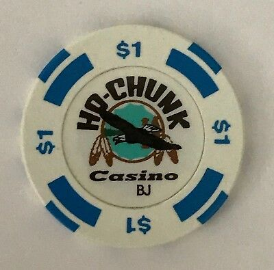 Ho Chunk $1 Casino Chip Wisconsin Old Indian Dells