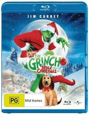 Dr Seuss' How The Grinch Stole Christmas (15th Anniversary Ed.) = NEW Blu-Ray Re