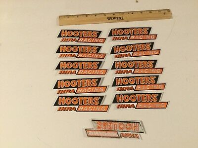 Hooters restaurant IHRA racing patch 5 inch long lot of 10