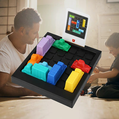 Rush Hour Traffic Jam Logic Puzzle Think fun Board Challenge Game Kids Toy Gift