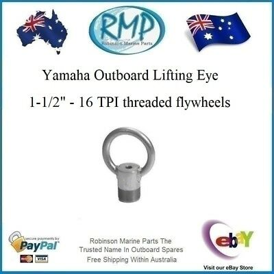 A New Aftermarket RMP Lifting Eye For Yamaha Outboards # R 91-904551