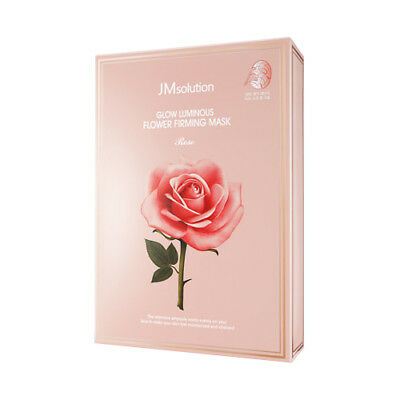 [JM Solution] Glow Luminous Flower Firming Mask 10ea