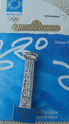 Ancient Column - Athens 2004 Olympic Pins Made By Trofe Themes From Greece