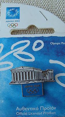 Ancient Parthenon - Athens 2004 Olympic Pins Made By Trofe Themes From Greece