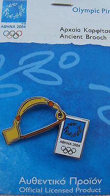 Ancient Brooch - Object Of Ancient Greece - Athens 2004 Olympic Pin