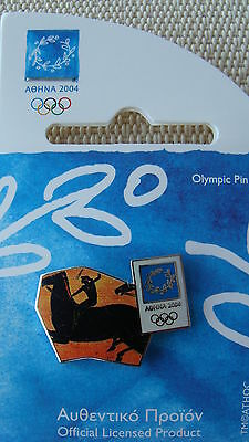 Piece Of Ancient Vase- Athens 2004 Olympic Pins Made By Trofe Themes From Greece