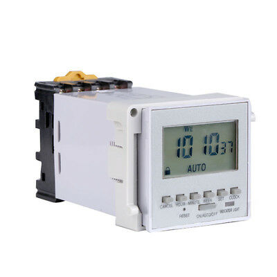 220V-240V Digital LCD Time Controller Microcomputer Timer Relay Switch