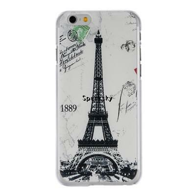 Ultra Thin Hard Shock-proof Eiffel Tower Mobile Phone Cases For Iphone LEBB