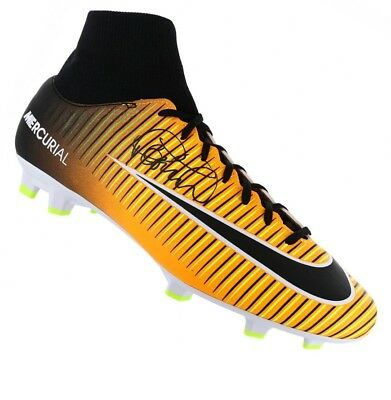 3d94a5dbfc1 Philippe Coutinho Signed Football Boot - Orange Nike Mercurial Autograph