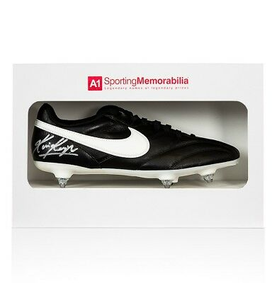 Kevin Keegan Signed Football Boot - Nike - Gift Box Autograph Cleat