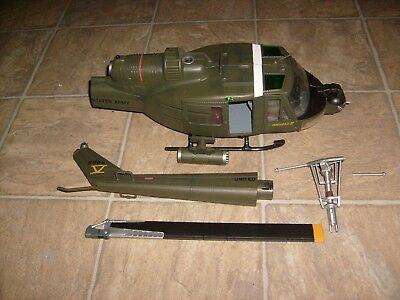 21st Century Toys Us Army Vietnam Uh 1c Huey Helicopter Parts Lot Rare