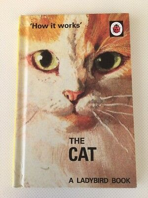 LADYBIRD BOOK for Adults - HOW IT WORKS: THE CAT - Humour - Great condition
