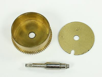 HERMLE #30 MAINSPRING BARREL with POST- CLOCK PARTS - RI83