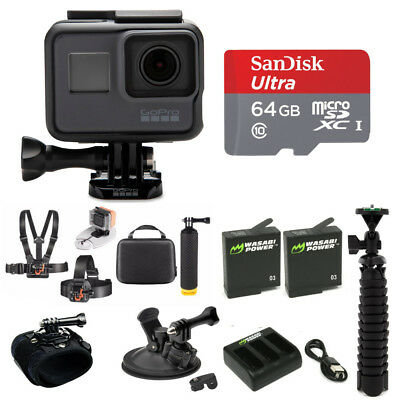 GoPro Hero5 4K Ultra HD Action Camera Delux All-in-One Outddor Bundle