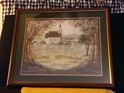 Home Interiors Lord Is My Shepard Picture Country picture 20×24