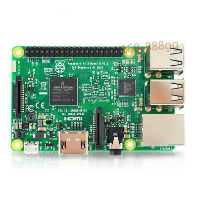 Quad Core 1.2GHz 64 Bit CPU Wifi & Bluetooth Original Raspberry Pi 3 Model B