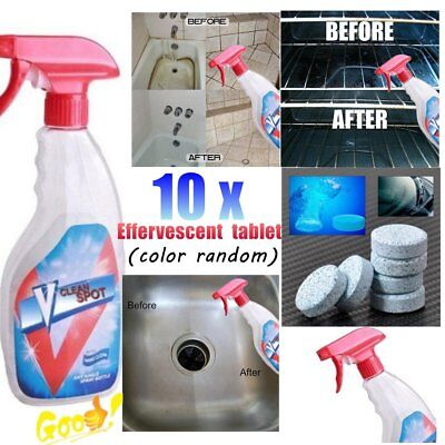 Multifunction Effervescent Spray Cleaner Multi-Purpose Kitchen Cleaning Spray FG