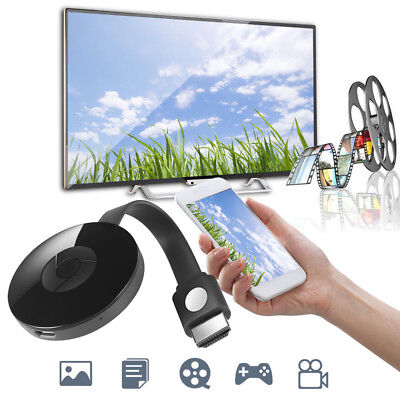 Miracast 1080P WiFi Display TV Dongle Wireless Adapter HDMI AirPlay DLNA Share