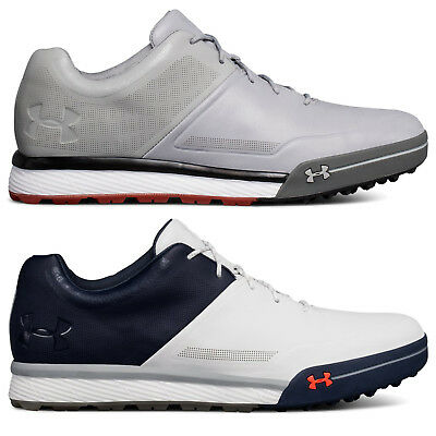 Under Armour Men's UA Tempo Hybrid 2 Spikeless Leather Golf Shoes