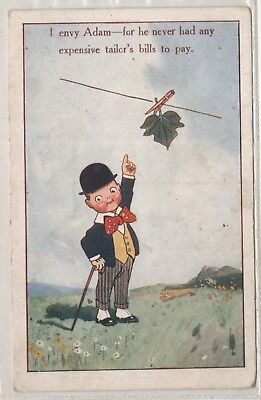 t children early old antique postcard greetings humour comic