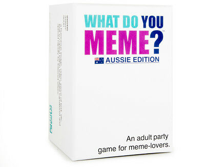 What Do You Meme? Aussie Edition Card Game