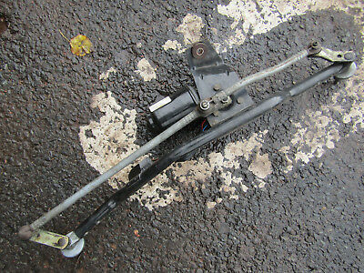 MGF MK2 MGTF Wiper Motor + Linkages Small  Grey Plug