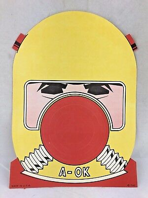 Vintage 1950's Or 1960's Halloween Paper Mask Premium Atomic Space Age Astronaut