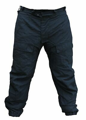 Black Ripstop Tactical Cargo Trousers Male R3U