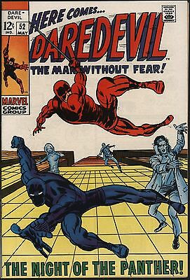Daredevil #52 Stunning 9.2  Barry Smith Art Black Panther! Pure White Pages