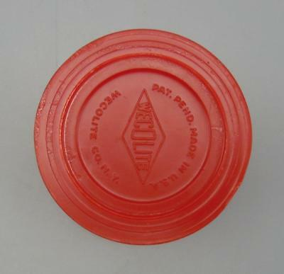 Vintage Boy Scouts of America BSA Wecolite Red Collapsible Travel/Camping Cup