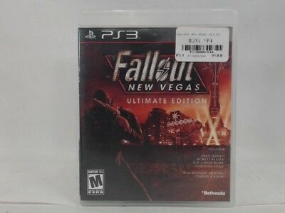 Fallout New Vegas Ultimate Edition Playstation 3 Ps3 Complete Cib Acceptable