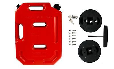 Raptor 4x4 10L 10 Litre Jerry Can With Mounting Bracket Fastener